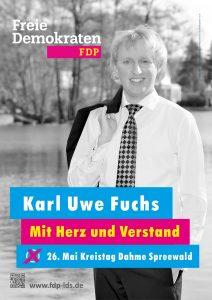Karl Uwe Fuchs FDP LDS