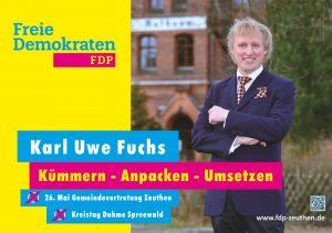 FDP Zeuthen - Wahlplakate-18-1 Fuchs