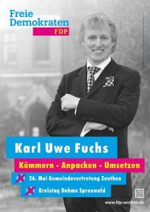 Karl Uwe Fuchs FDP Zeuthen